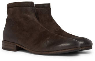 Marsèll Burnished-Suede Chelsea Boots