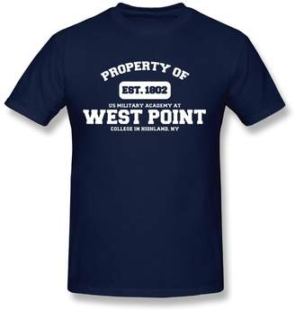 Genmai Si Quanjia Military Base Property Of West Point Veteran Men's Short Sleeve Tee