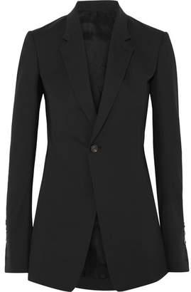 Rick Owens Wool-blend Blazer - Black