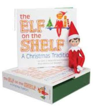 The Elf On The Shelf Elf Shelf Boy