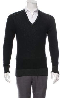 John Varvatos Cashmere V-Neck Sweater Cashmere V-Neck Sweater
