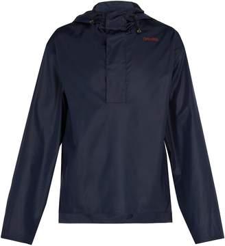 Wales Bonner Hooded windbreaker jacket