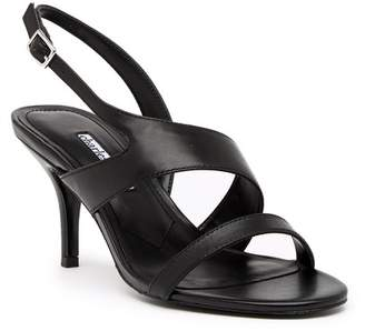 Charles David Carmina Slingback Leather Sandal