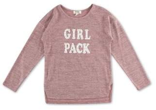 Lots of Love by Speechless Girl Pack Studded Long Sleeve Sweater Knit Top (Big Girls)
