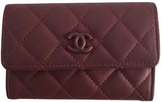 Chanel Timeless Burgundy Leather Purses, wallets & cases