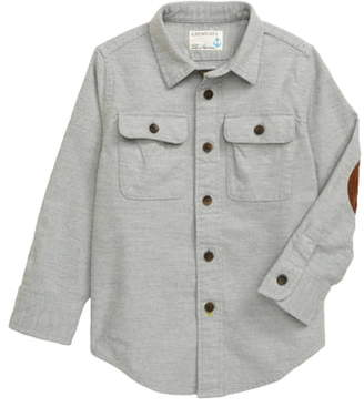 J.Crew crewcuts by Button-Up Chamois Shirt