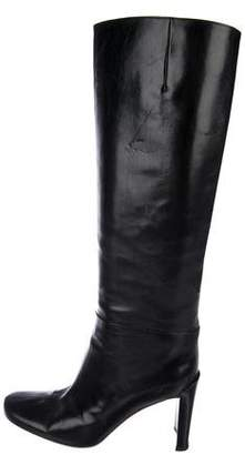 DKNY Leather Knee-High Boots