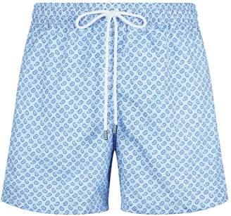 a8c8b56ec5 Fedeli Paisley Drawstring Swim Shorts