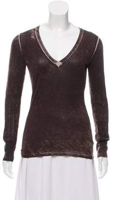 Just Cavalli Long Sleeve Knit Top