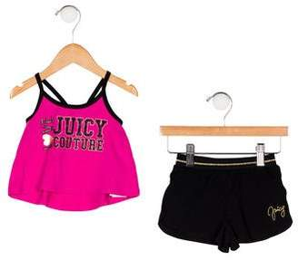 Juicy Couture Girls' Printed Pajama Set w/ Tags