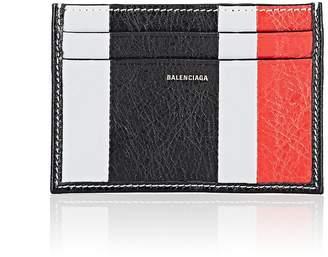 Balenciaga Men's Bazar Arena Leather Card Case