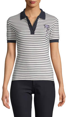 Carven Deauville Striped Polo