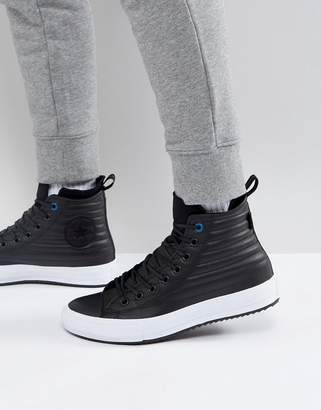 Converse Chuck Taylor All Star Boot Sneakers In Black 157492C