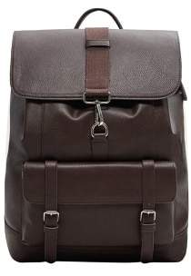 Mango Man MANGO MAN Pockets pebbled backpack