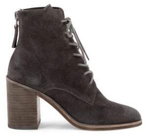 Dolce Vita Drew Suede Lace-Up Booties