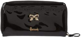 Harrods Vintage Lace Zip-Around Wallet