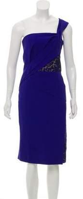 J. Mendel Silk Asymmetric Dress w/ Tags
