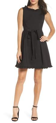 French Connection Alvina Fit & Flare Dress