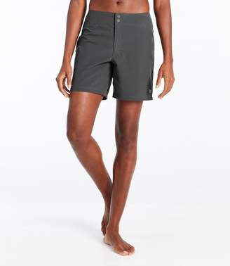 a4878660b1 L.L. Bean Women's L.L.Bean Stretch Board Shorts, ...