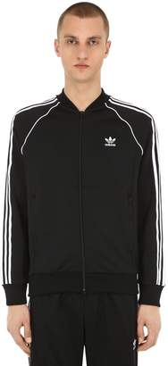 adidas Sst Zip-Up Cotton Blend Track Jacket