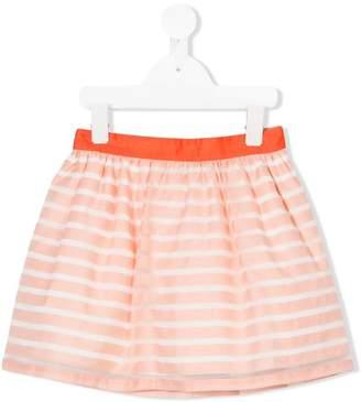 Hucklebones London elasticated waist gathered skirt