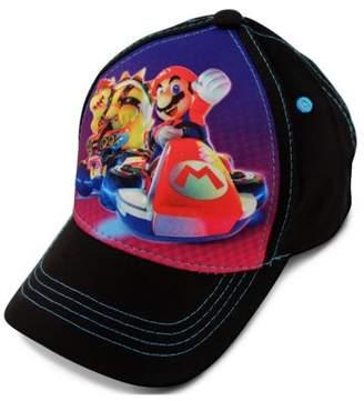 Nintendo Toddler Boys Mario Kart Character 3D Pop Baseball Cap, Age 2-4