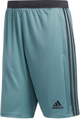 "adidas Men ClimaLite Three-Stripe 10"" Shorts"