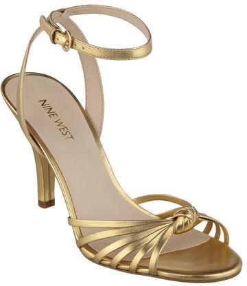Nine West Saynt Open Toe Ankle Strap Sandals