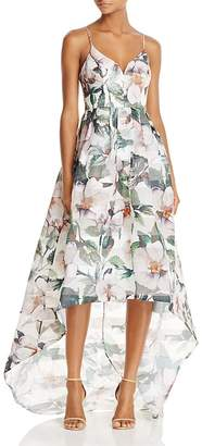 Bariano Floral High/Low Gown $268 thestylecure.com