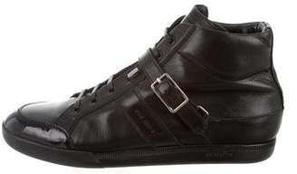 Christian Dior B24 Buckle Sneakers