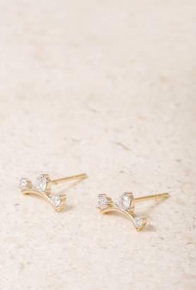 Adina 3 Diamond Amigos Earrings