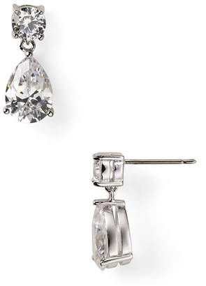 Nadri Cubic Zirconia Teardrop Earrings