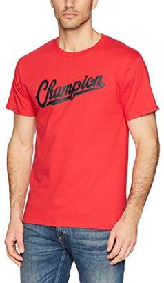 Champion Men's Classic Jersey Graphic T-Shirt