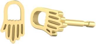 ICONERY x Rashida Jones Hamsa Hand Stud Earrings