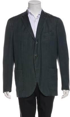 Boglioli Wool Button-Up Coat
