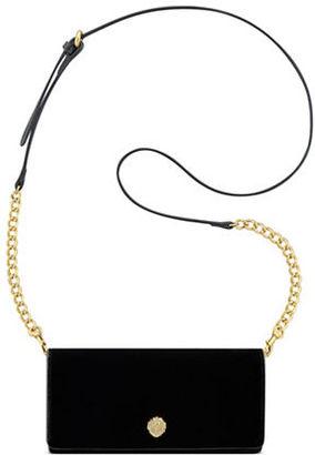 Anne Klein Accordion Chain Strap Wallet $58 thestylecure.com