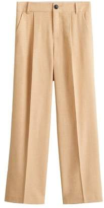 MANGO Wool suit pants