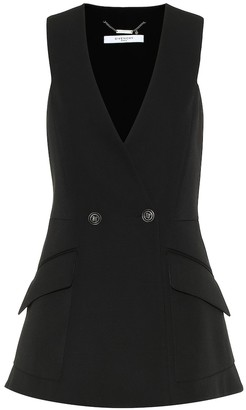 Givenchy Sleeveless wool jacket