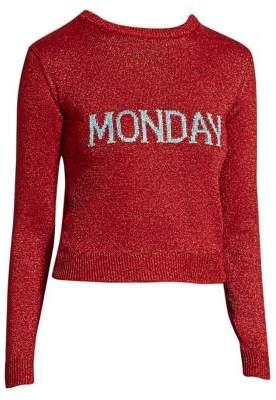 Alberta Ferretti Rainbow Week Capsule Days Of The Week Monday Sweater