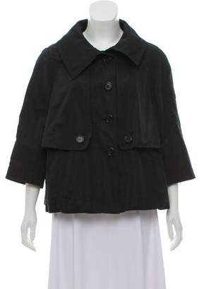 Derek Lam Silk Button-Up Jacket