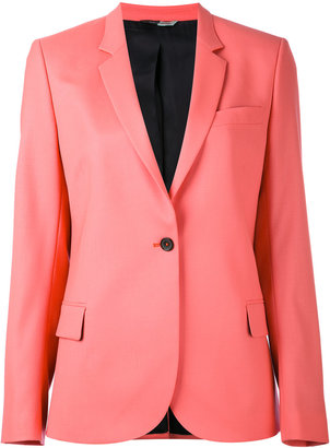 Ps By Paul Smith one button blazer $650 thestylecure.com