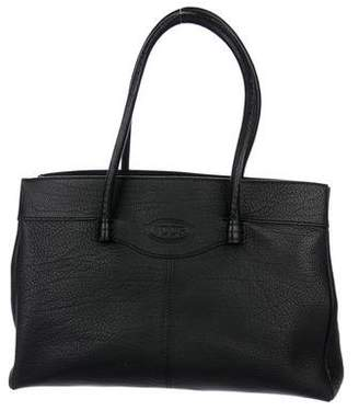 Tod's Grained Leather Tote