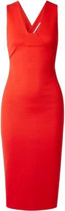 Rosetta Getty Stretch-ponte Midi Dress