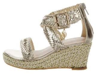 Stuart Weitzman Girls' Akilah Wedge Sandals
