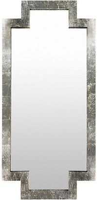 "One Kings Lane Dayton 35""x75"" Floor Mirror - Silver"