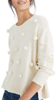 Madewell Pompom Pullover Sweater
