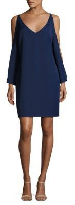 Laundry by Shelli Segal Split Sleeves Cocktail Dress $168 thestylecure.com