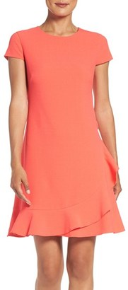 Women's Eliza J Crepe A-Line Dress $138 thestylecure.com