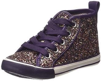 Pumpkin Patch Sparkle Me Hi Tops, Girls' Multisport Indoor Shoes,S Child UK (20.5 EU)