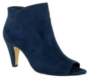 Bella Vita Noah Ii Open Toe Dress Booties Women's Shoes